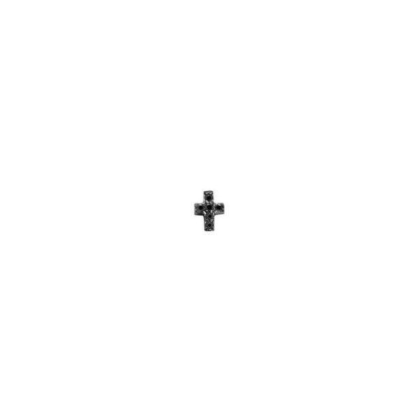 Feidt Paris - Boucle d'oreille - Les éternels - micro croix