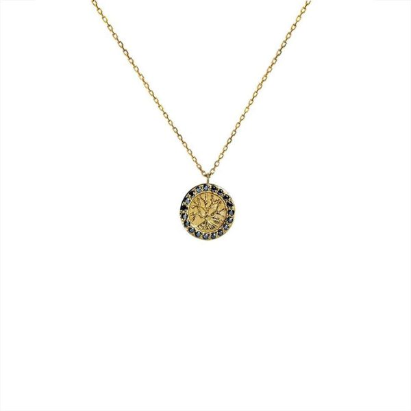 Feidt Paris - Collier médaille petit modèle - Arbre de Vie