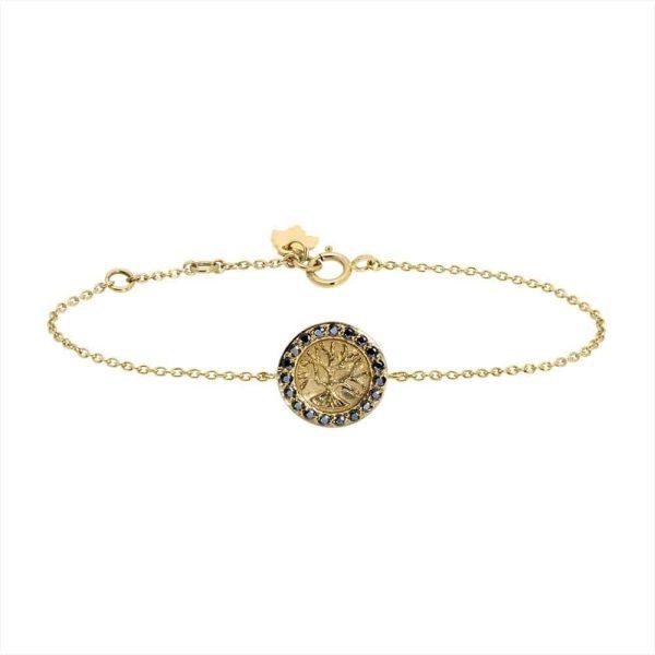 Feidt Paris - Bracelet - Médaille Arbre de Vie