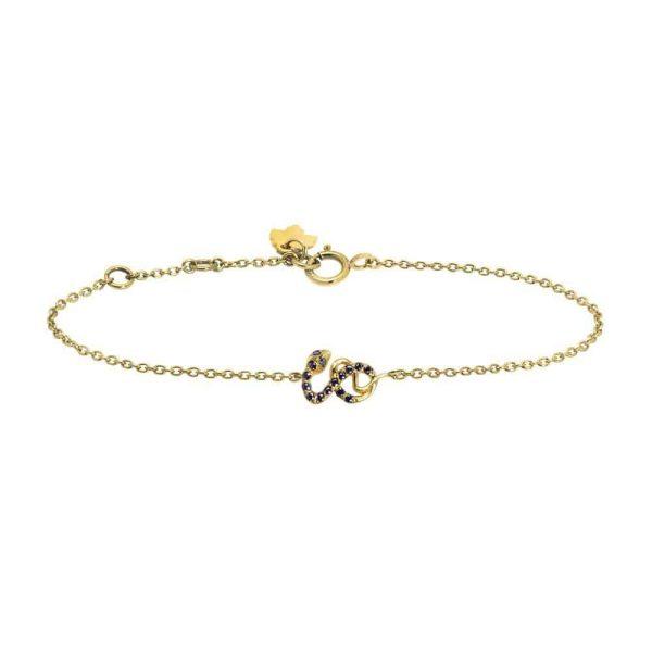 Feidt Paris - Bracelet Serpent - Porte Bonheur