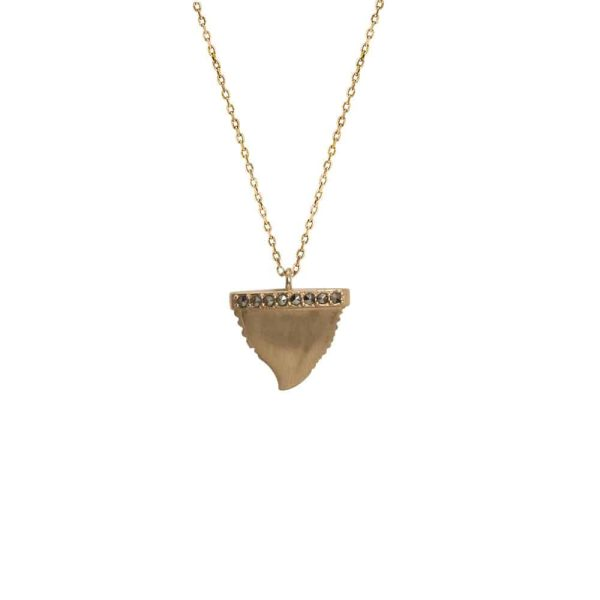 Feidt Paris - Collier - Indian vibes - Dent de requin