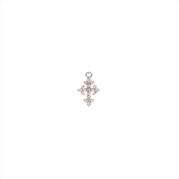 Feidt Paris - Charm croix - Lys